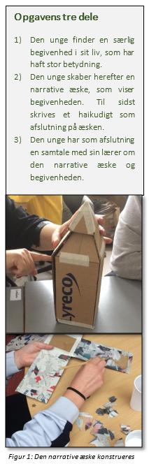 Figur 1: Den narrative æske konstrueres