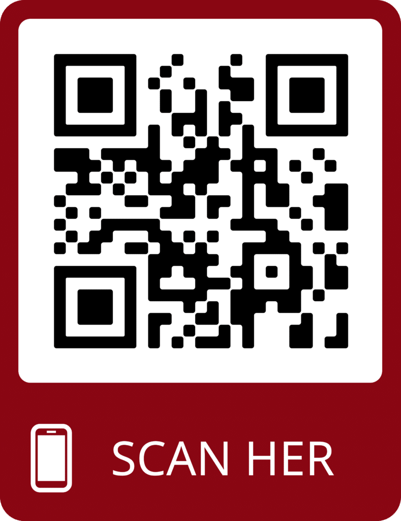 Scan QR kode for støtter via MobilePay